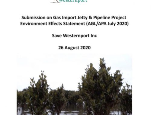 Save Westernport's EES Submission